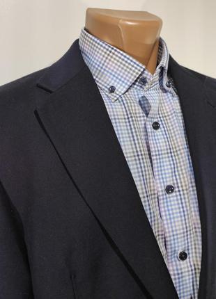 Мужской темно - синий костюм германия размер 48