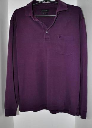 Мужской реглан кофта свитер фиолетовый бренд пьер карден pierr...