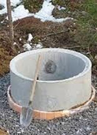 Септик под ключ в Херсоне. Выгребная яма из ЖБИ колец или кирпич.