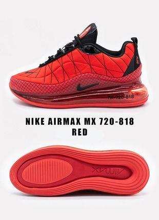 Шикарные мужские кроссовки nike mx-720-818 red 😍 (весна/ лето/...