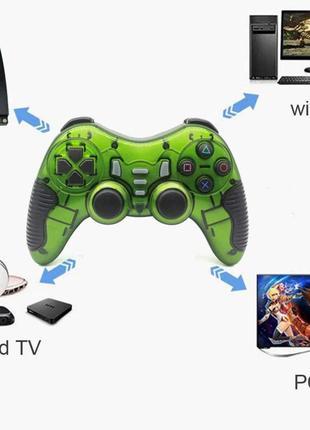Джойстик геймпад беспроводной 6в1 PS1 PS2 PS3 PC 360 TV