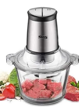 Измельчитель для мяса, овощей и фруктов для кухни, электрическ...