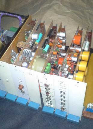 Тиристорный преобразователь частоты ТПЧ-100. Блоки управления.