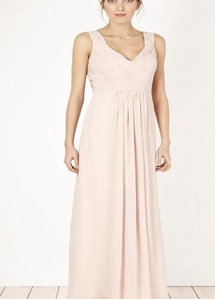 Невероятно красивое платье в пол