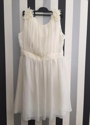 Невероятной красоты шикарное платье