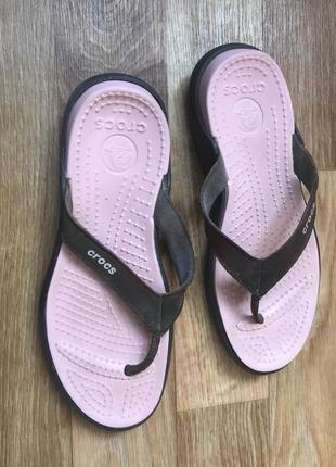 Вьетнамки crocs 6
