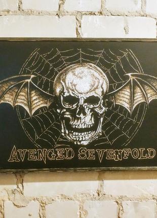 Картина панно Avenged Sevenfold