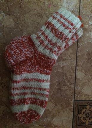 Носки вязаные ручная работа