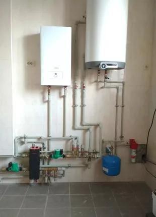 Монтаж автономного отопления в Херсоне. Оформление документов