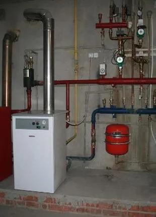 Монтаж автономного отопления в Херсоне. Установка котлов в Херсон