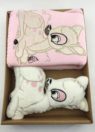 Детский плед одеяло турция для новорожденного подарок новорожд...