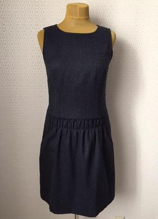 Платье без рукавов в деловом стиле от esprit, размер нем 38, у...