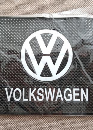 Volkswagen - Антискользящий коврик на торпедо с эмблемой и над...