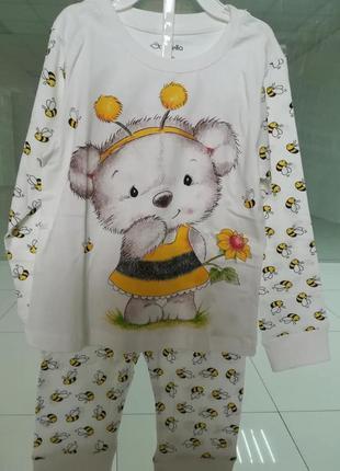Пижамы детские Donella. Турция. Разные размеры и цвета.
