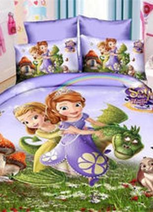 Комплекты детского постельного белья. 100% хлопок, ранфорс.