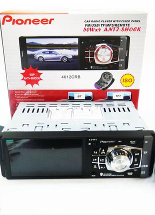 Автомагнитола Pioneer 4012 ISO  - 4,1'', DIVX, MP3, USB, SD, BLU