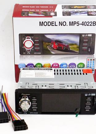 Автомагнитола Pioneer 4022 ISO  - 4,1'', DIVX, MP3, USB, SD