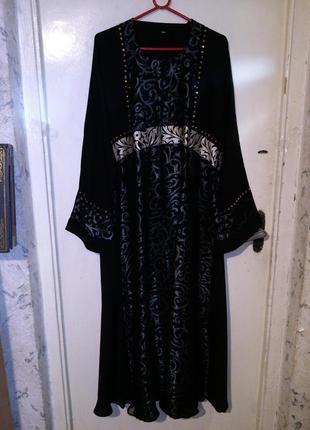 Нарядное,шикарное,вечернее платье в пол,с стразиками,большого ...