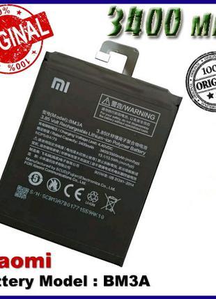 Аккумуляторная батарея Xiaomi Mi Note 3 BM3A