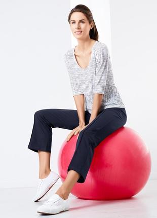 Спортивные брюки длиной 7/8 из био-хлопка, tchibo. Р. Л=50-52