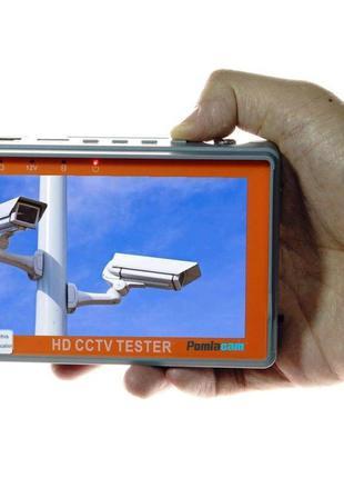 Видеотестер - портативный монитор для настройки видеокамер Pom...