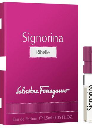 Парфюмированная вода Salvatore Ferragamo Signorina Ribelle для...