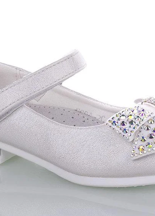 Туфли для девочки, новогодние