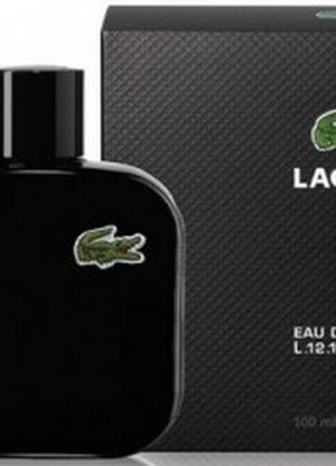 Туалетная вода для мужчин Lacoste Eau De Lacoste L.12.12 Noir ...