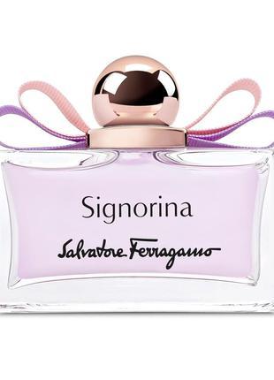 Туалетная вода тестер для женщин Salvatore Ferragamo Signorina...
