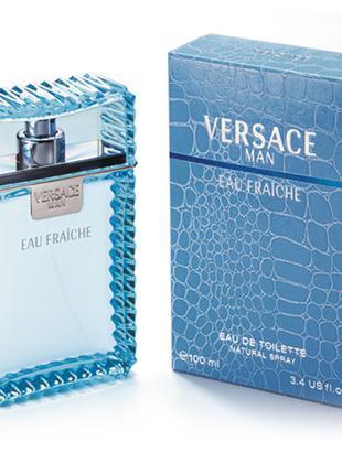 Туалетная вода для мужчин Versace Eau Fraiche EDT 100 мл (Турц...