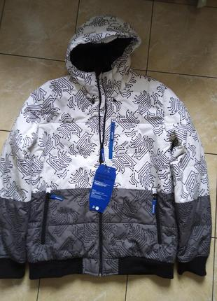 Фирменная мужская куртка аляска р.xxl house design на синтепоне