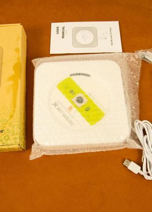 Микросистема Wall Mountable White KC-808 (CD, FM, Bluetooth, USB)