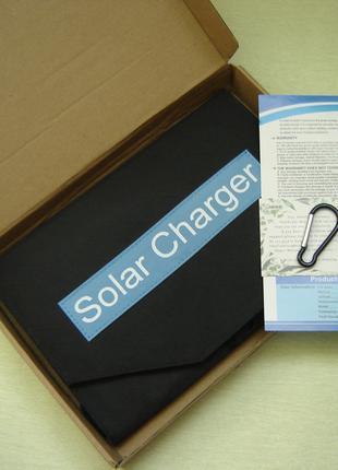Солнечная батарея, панель 21Вт (новая, раскладная)