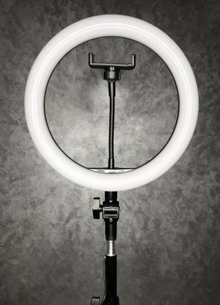 Кольцевая лампа led 26 см со штативом 2 м