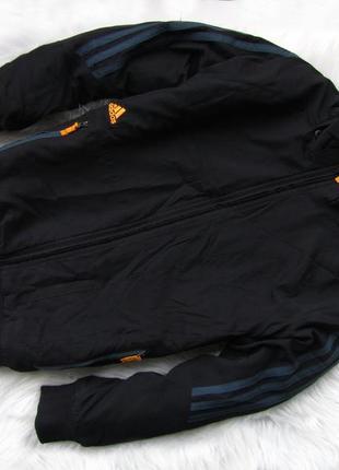 Стильная утепленная спортивная  куртка бомбер adidas