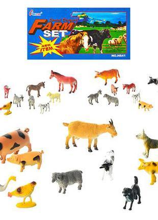 Животные домашние 10шт