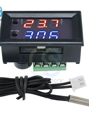 Цифровой регулятор температуры термостат W1209WK 12в замена w1209