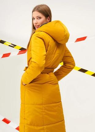 Пальто куртка длинная зимняя 2020