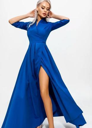 Платье  вечернее blue dyne