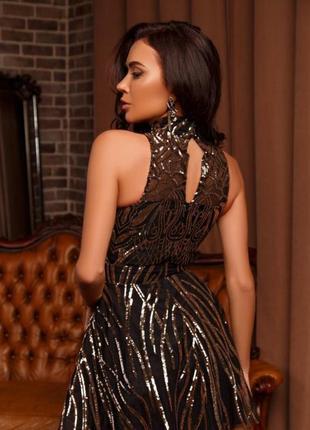 Вечерние платья 2020 sparkling spray
