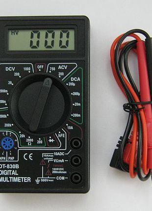 Мультиметр тестер DT-830В (оригинал)