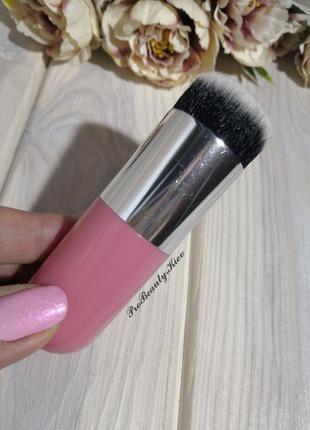 Кисть для макияжа кабуки pink/silver probeauty