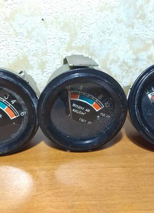 Указатель давления масла механический мд 219 мд 220 Манометр СССР