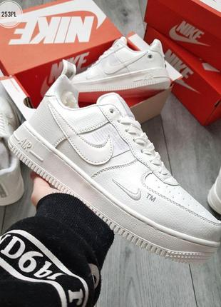 ❄️nike air force low 19 white❄️зимние мужские белые кроссовки ...