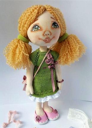 Кукла текстильная авторская ручная работа