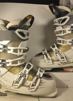 Salomon divine rs7 ботинки лыжные женские