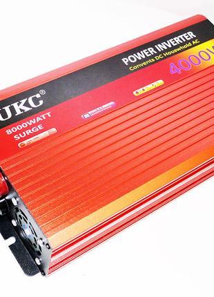 UKC 12V-220V 4000W Инвертор с функцией плавного пуска