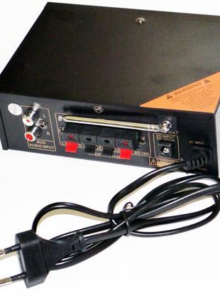 Усилитель UKC AK-699D - USB, SD-карта, MP3 2x300W 2х канальный