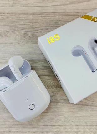 Беспроводные Наушники. Bluetooth наушники AirPods i8S TWS.