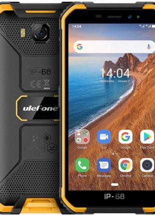 Мобильный телефон Ulefone Armor X6 2/16GB Black Orange (693774...